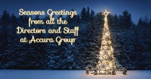 Merry Christmas and a Happy New Year from all at Accura!