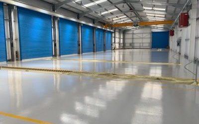 Epoxy Workshop Flooring | Roger Dyson Group