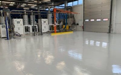 Industrial Epoxy Resin for Arrk Europe's Warehouse Flooring and Production Areas