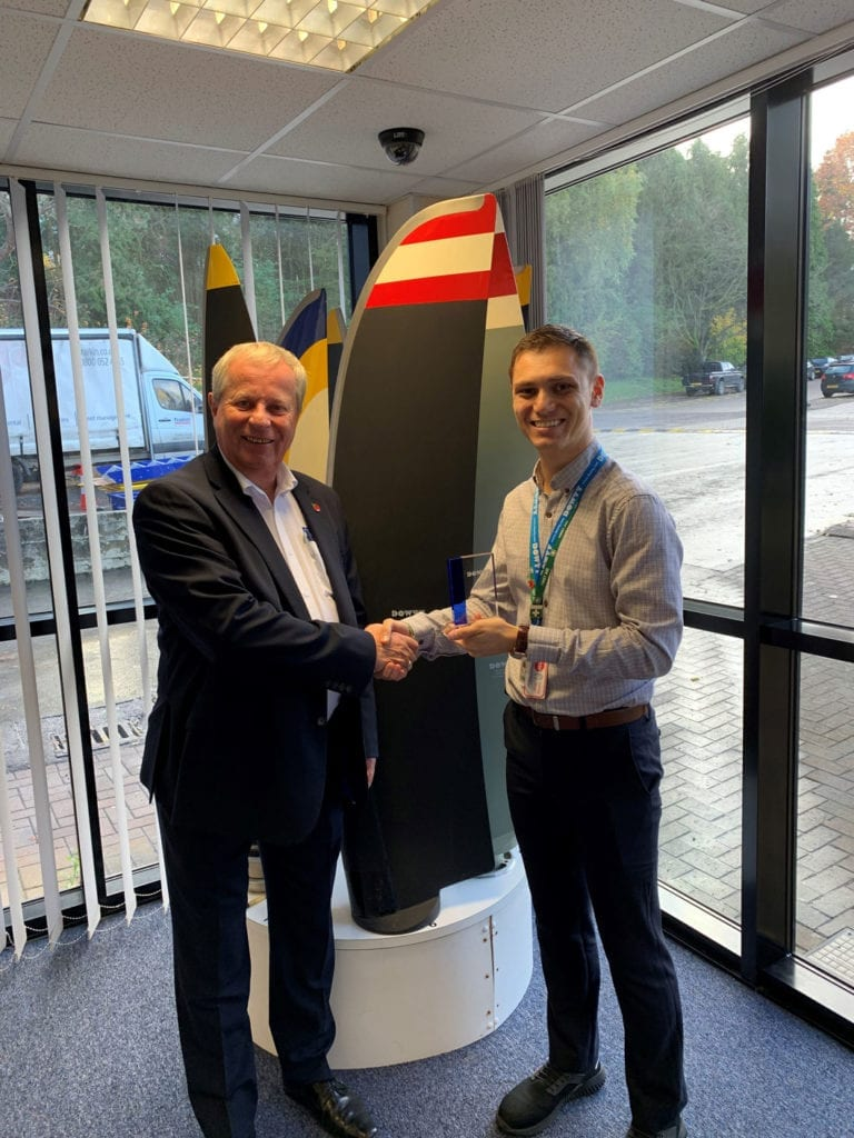 INDESTRUCTIBLE PAINT LTD AWARDED FOR EXEMPLARY CUSTOMER SERVICE