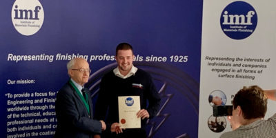 Outstanding Achievement Recognised for Indestructible's Laboratory Technician