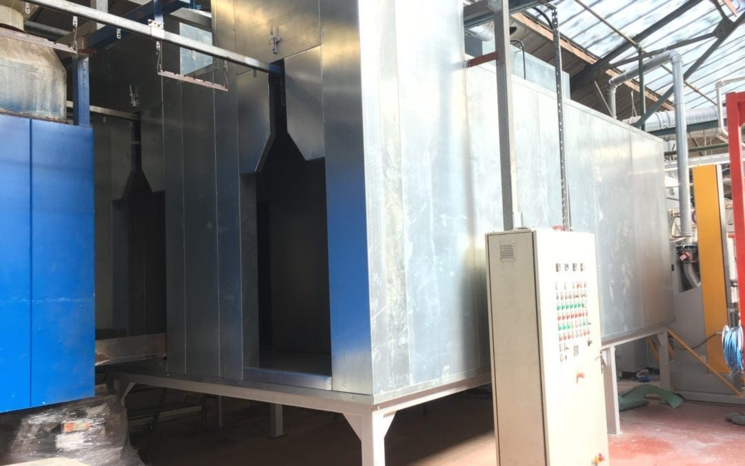 Curing Oven Replacement Services | TD Finishing