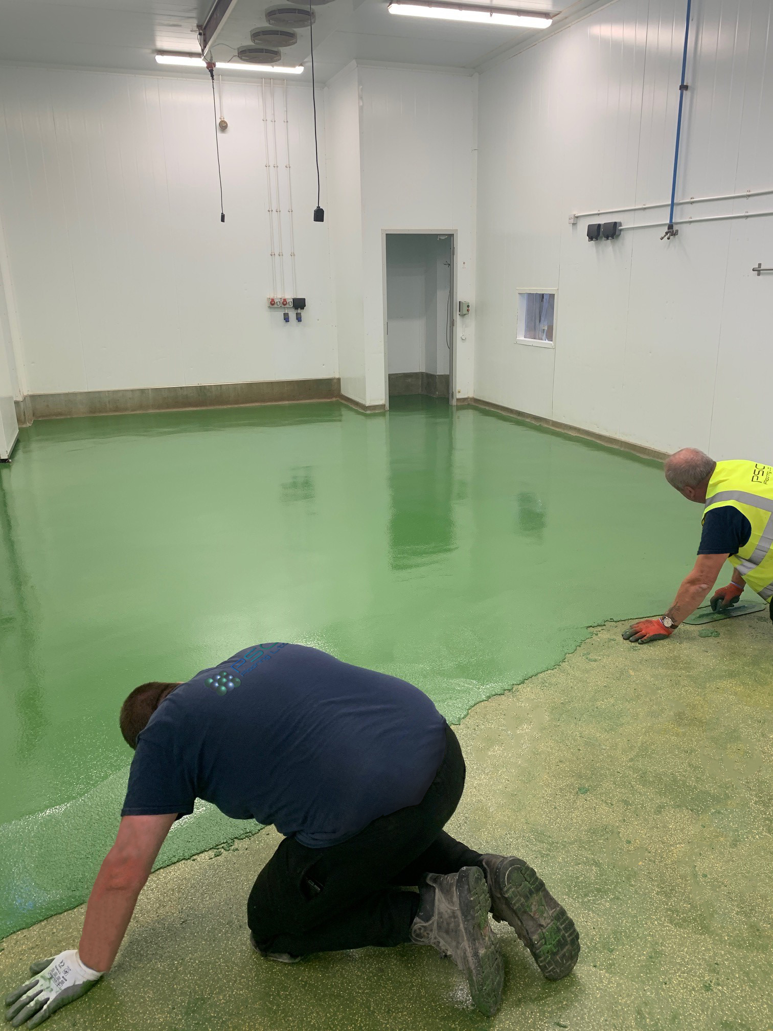 All Mixed Up – 6mm RT polyurethane screed